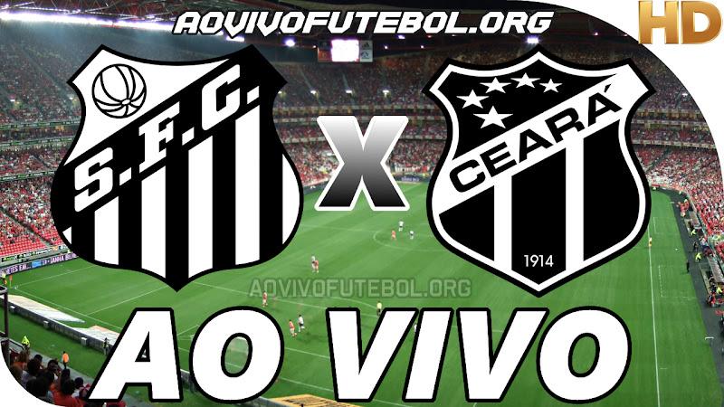 Santos x Ceará Ao Vivo HD TV PFC