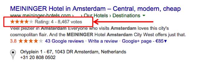 Cách chèn Rich Snippets, sao đánh giá, xếp hạng website Google