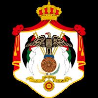Logo Gambar Lambang Simbol Negara Yordania PNG JPG ukuran 200 px