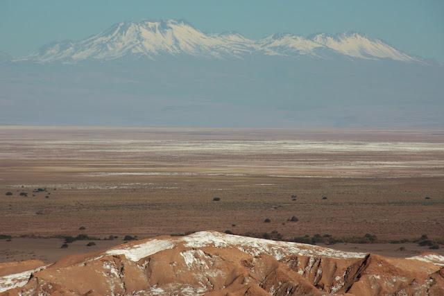 Depressão Andina, no Deserto do Atacama