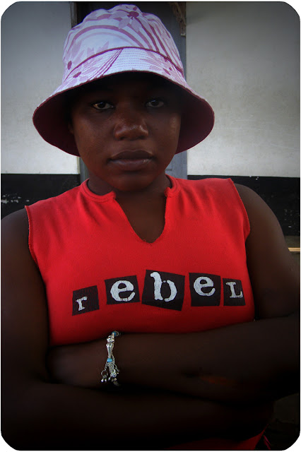 Portrait - Young woman - Dar es Salaam Tanzania