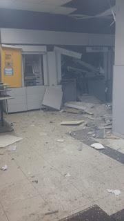 Em Barra de Santa Rosa agência do Banco do Brasil é explodida mais uma vez, dois dias após ser reaberta