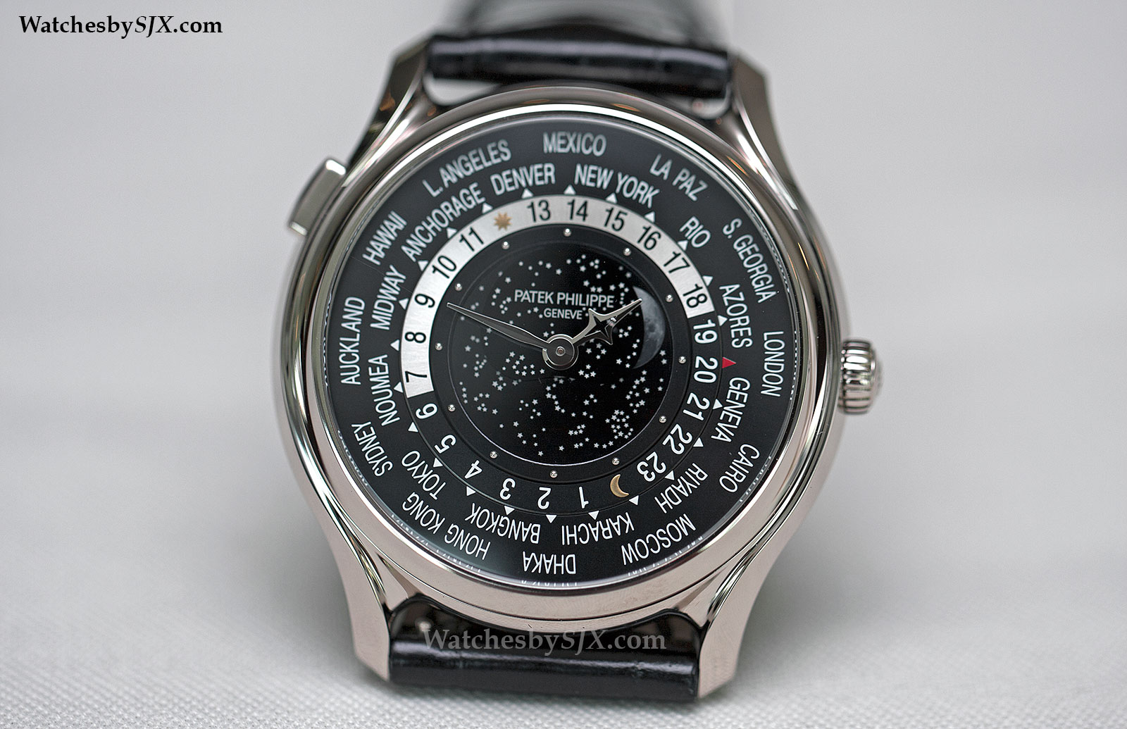 7b08edfc976 Up Close With The Patek Philippe 175th Anniversary World Time Moon Refs.  5575G and 7175R (With Photos And Price)