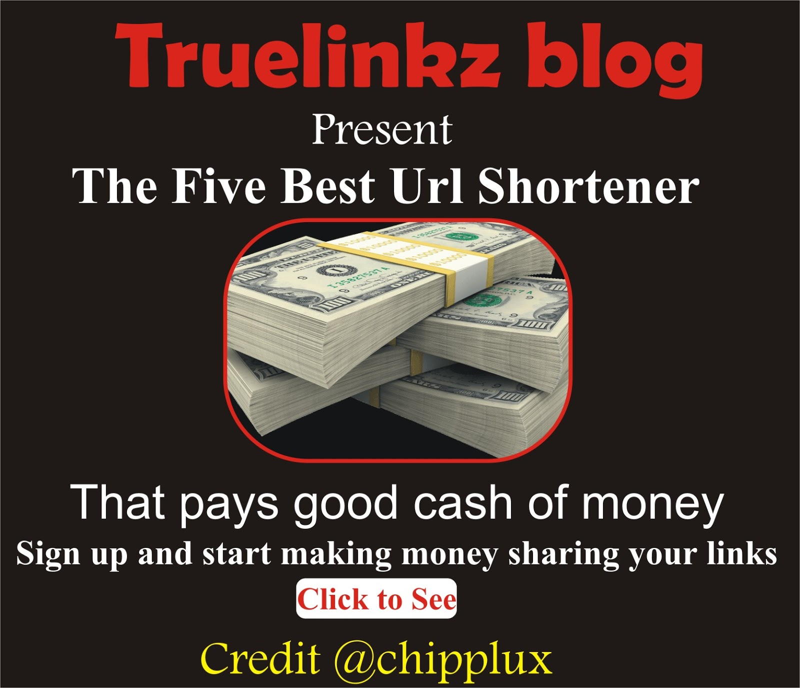 The five best url shortener to make money with in 2019
