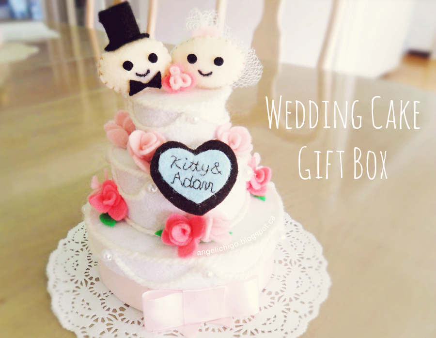 Wedding Cake Gift Box {Tutorial}