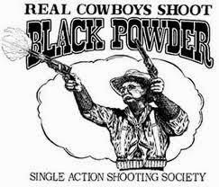 cowboys arme à poudre noire
