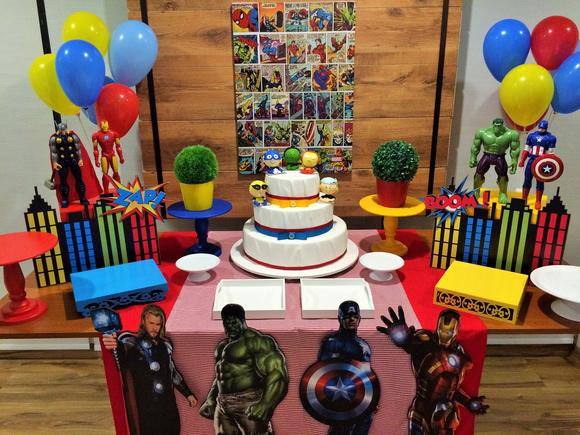 Festa infantil Vingadores