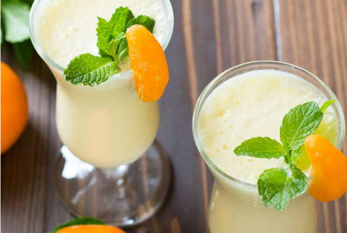 Pineapple Orange Smoothie #drink #smoothierecipe