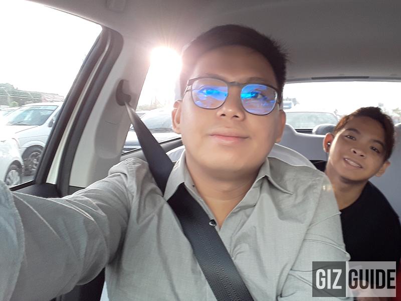 Selfie test!