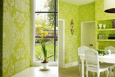 Modern Home Design Interior With Green Color Combination Is The Dream Of Everyone Because It Very Nice And Cool