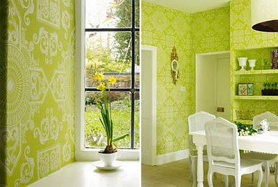 Home Interior Design With Green Color Combination Is The Dream Of Everyone Because It Very Nice And Cool Uses A