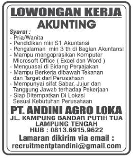 PT. ANDINI AGRO LOKA