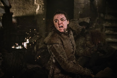 Arya Stark Juego de Tronos 8x03 « The Long Night »