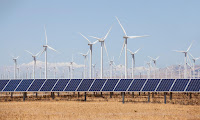 New trend toward renewables and away from the dirtiest fossil fuels is 'extremely significant', say energy experts. (Photograph Credit: Alamy) Click to Enlarge.
