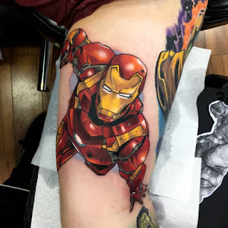 tatuaje Iron Man