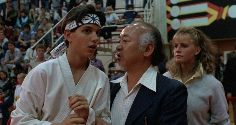 The Karate Kid (1984).