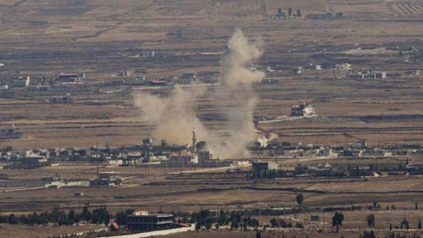 En noviembre pasado ISIS atacó a soldados israelíes en los Altos del Golán (FDI)