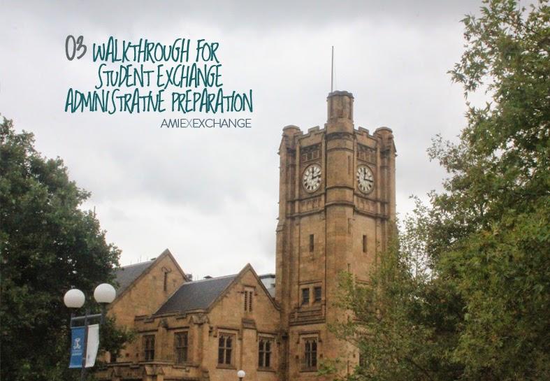 Walkthrough for Student Exchange Administrative Preparation