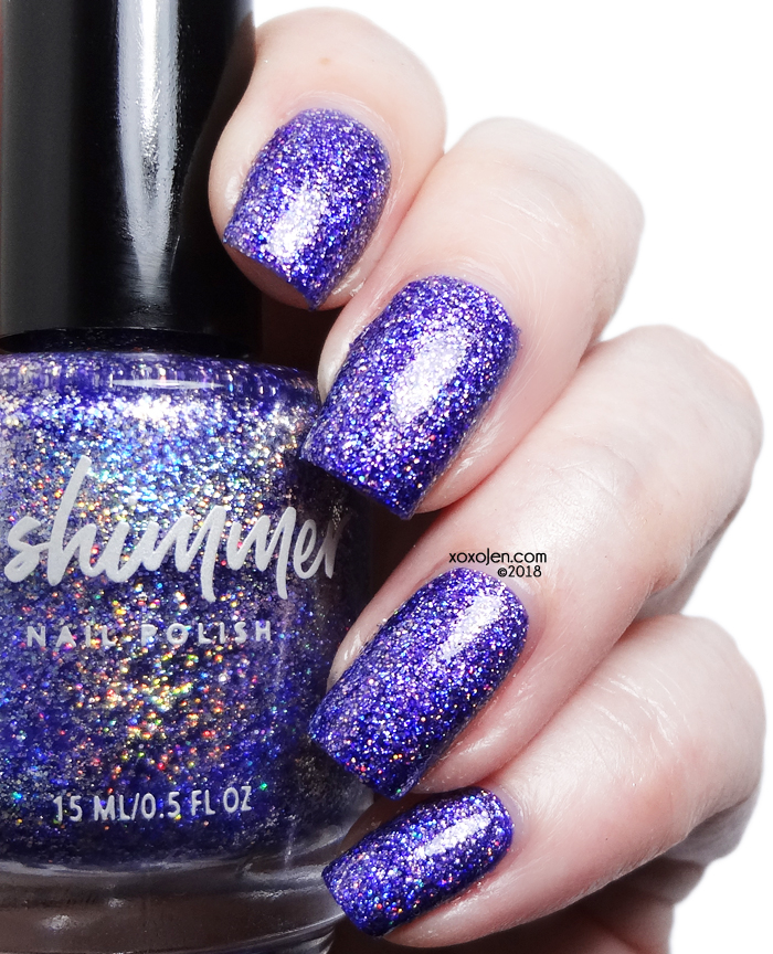 xoxoJen's swatch of kbshimmer Best Witches