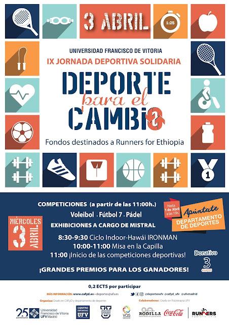 IX Jornada Deportiva Solidaria-Patrón de CAFyD-San Juan Pablo II UFV