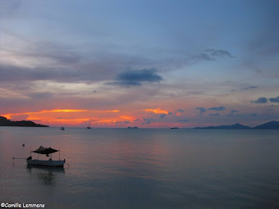 Sunset at Fisherman's Village, Koh Samui