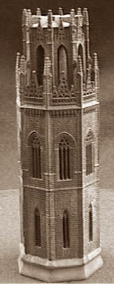Quinto juego de ajedrez, campanario de la Seu Vella de Lleida, torre negra