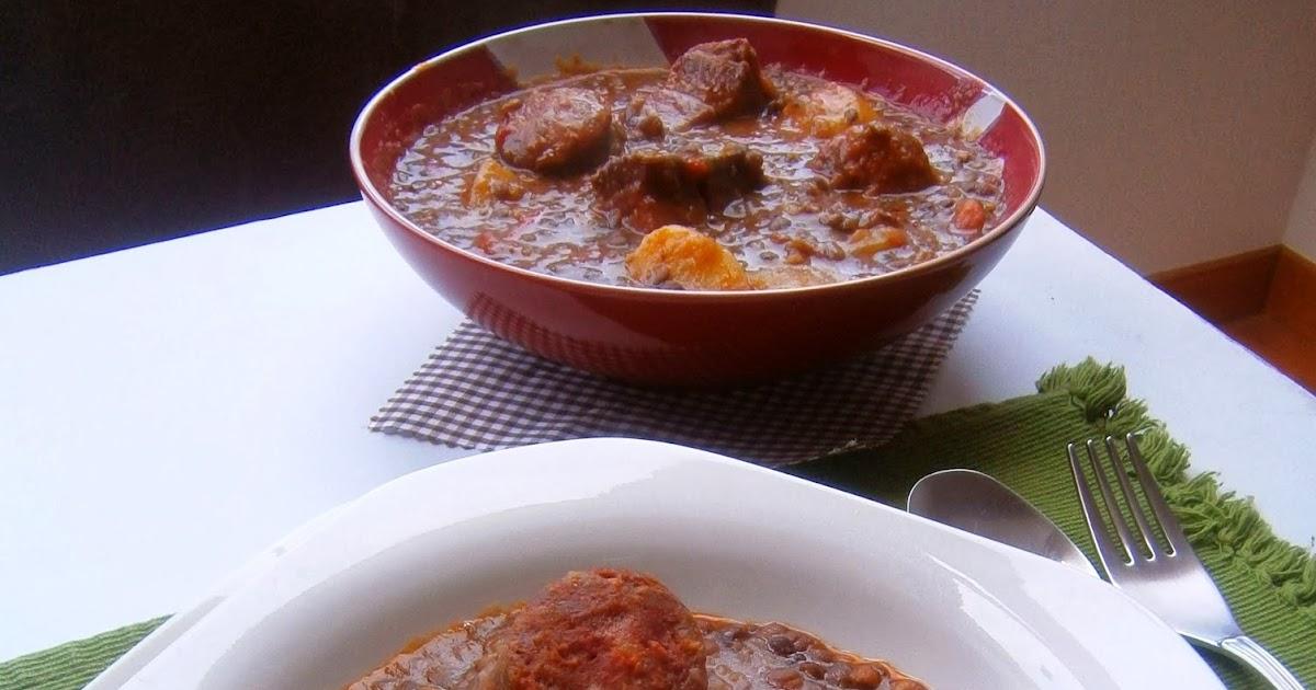 Lentejas caseras con chorizo la cocina de la abuela - Cocina casera de la abuela ...