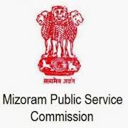 Mizoram Public Service Commission Vacancy  2017