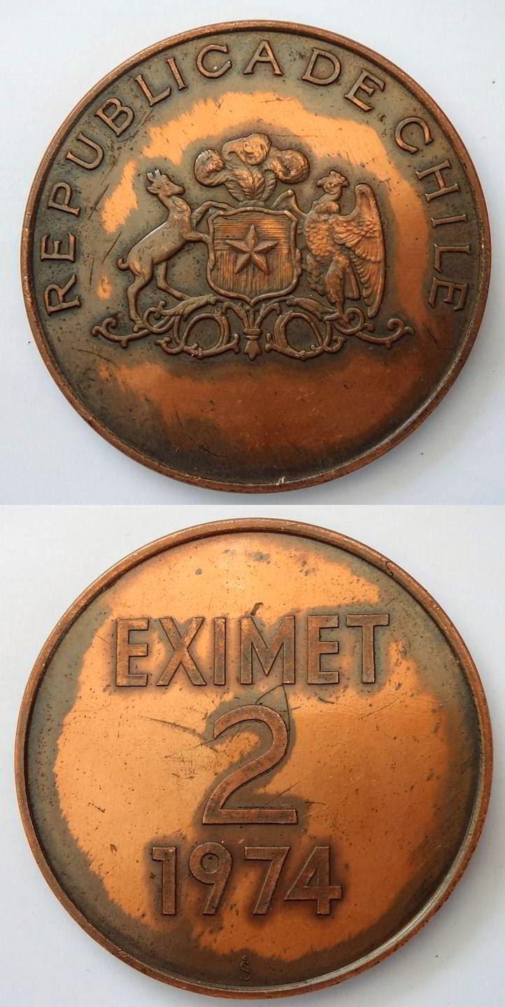 Segunda Exposición  EXIMET/ 2/ 1974