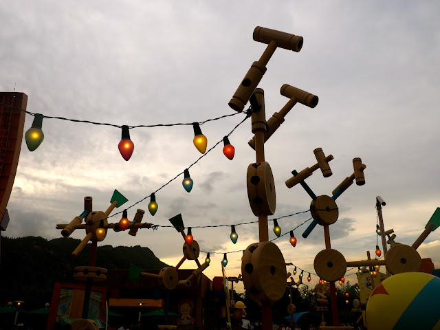 Toy Story Land decorations | Disneyland Hong Kong