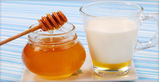 milk and honey health benefits
