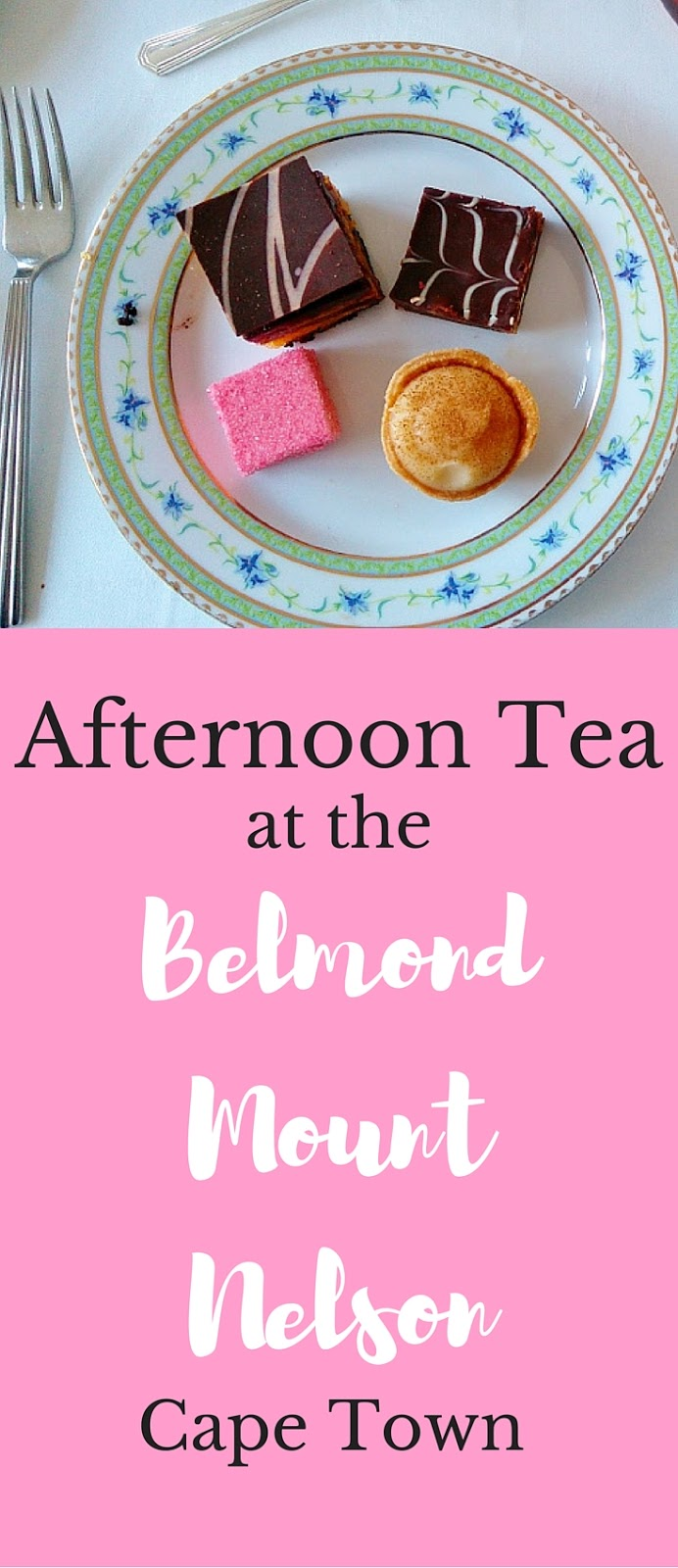 Afternoon Tea at the Belmond Mount Nelson