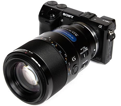 Объектив Sony FE 90mm f/2.8 Macro G OSS и камера Sony Alpha NEX-7