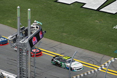 Blake Koch earned a career-best start, won the first stage and led 28 laps - #nascar #nxs