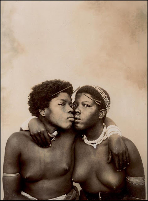 Zulu couple, 1903. (via Okinawa Soba)