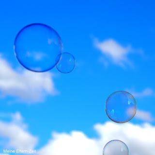 Seifenblasen Blauer Himmel