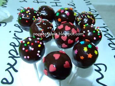 Pequeňa Lola Cake Pops