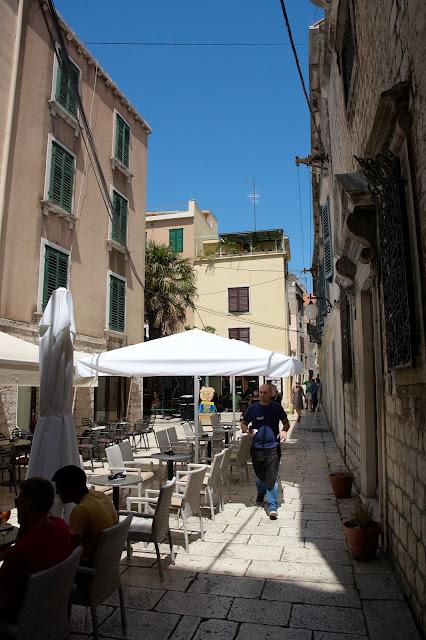 restauracje Sibenik, centrum miasta