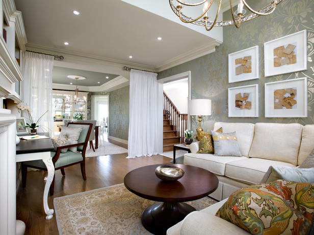 Kitchen Table Design Decorating Ideas Hgtv Pictures: Modern Furniture: Luxury Living Rooms Decorating Ideas