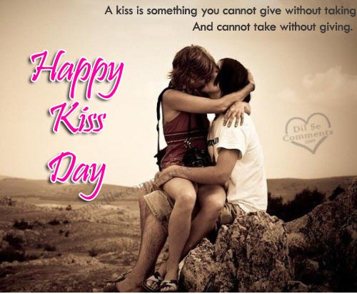 Romantic Kiss Day Shayari in English