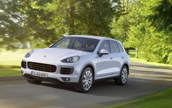 Wallpaper: Porsche Cayenne 2015