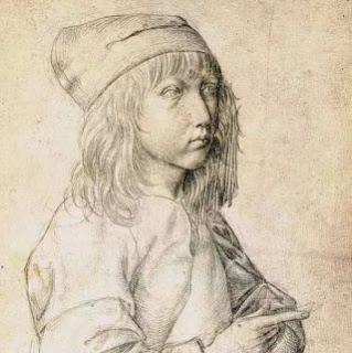Дюрер - автопортрет