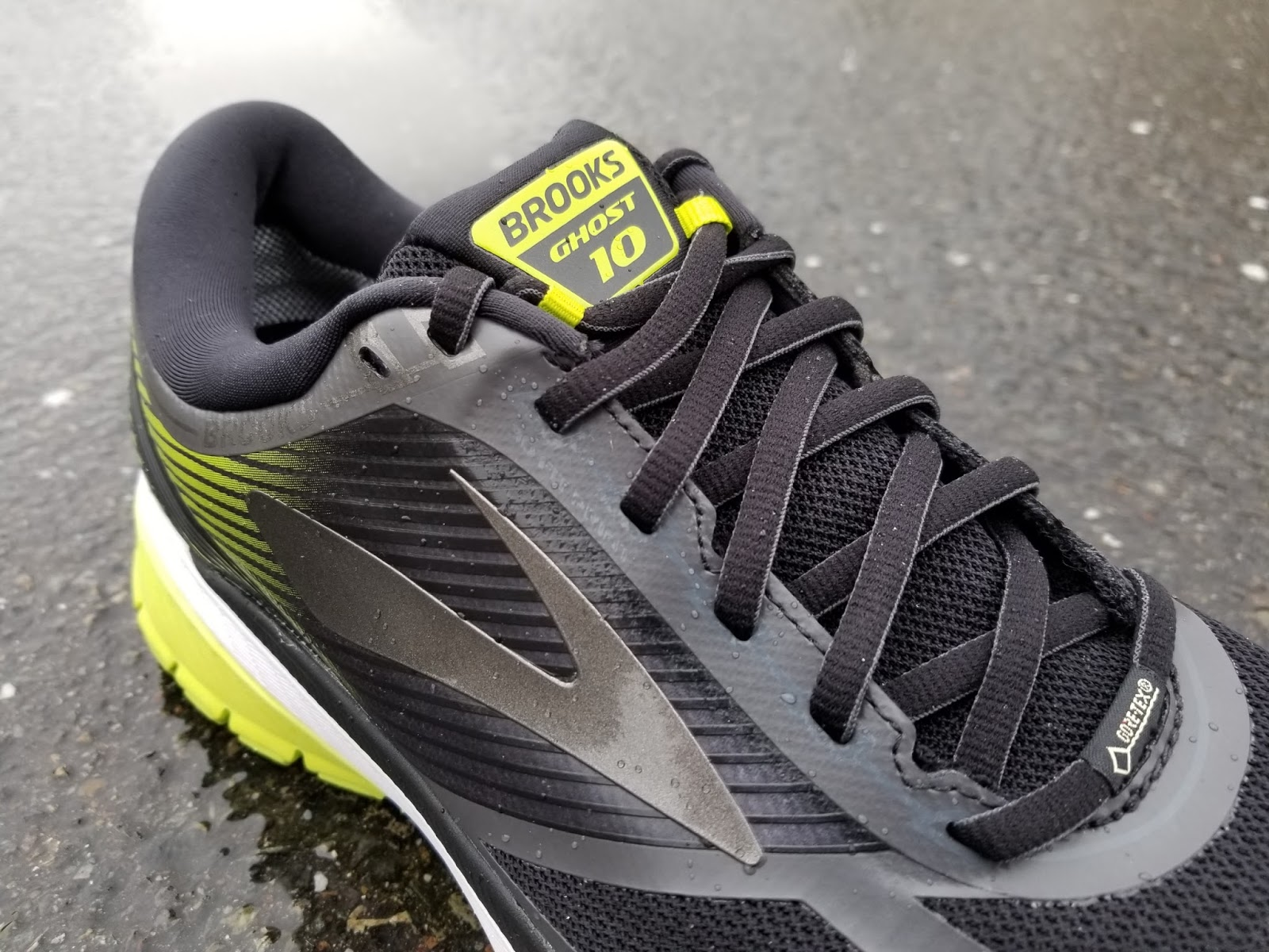 8ae609620f7 I have put over 50 miles on the Ghost 10 GTX and I really like the feel and  comfort of the shoe. The smooth transition and flexible outsole make running  in ...