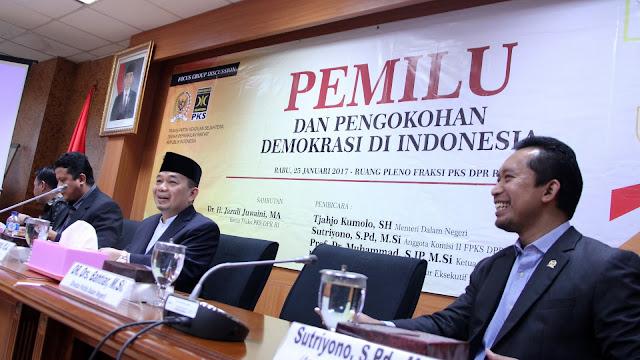 FPKS Berharap Pemilu 2019 Lebih Berkualitas dan Demokratis
