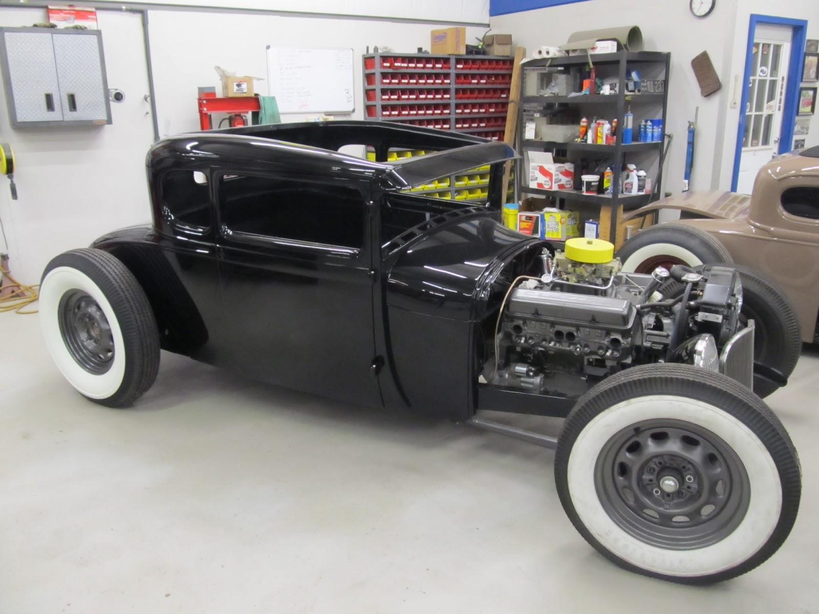 VAPHEAD: 1929 Coupe,swept frame,channeled,hot rod