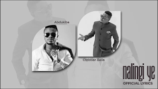 Lyrics Video - Abdukiba ft Christian Bella - Nalingi Ye Mp4 Download