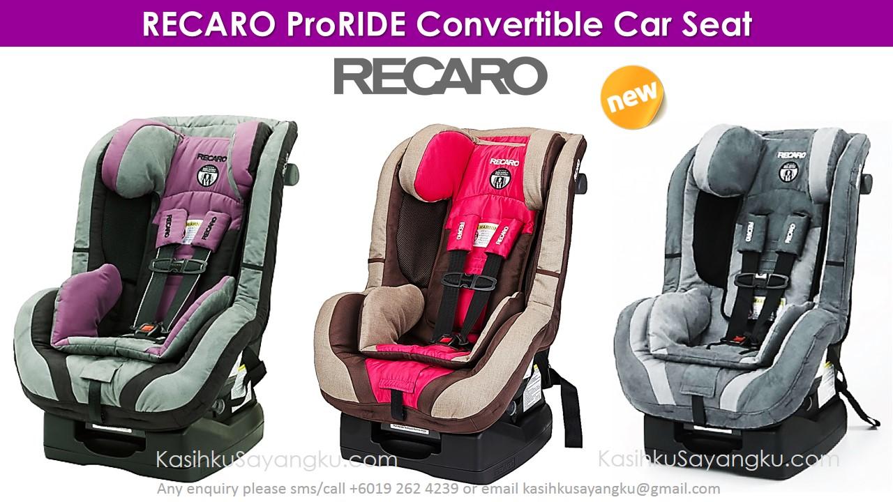 Recaro Proride Convertible Car Seat Made In Germany