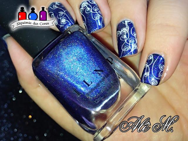 I.L.N.P. - Summer Stargazing, Summer 2014, Azul, Blue, Holografico, La Femme, Branco, DRK  Seasons, Carimbado, Alê M.