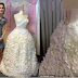 Check out this beautiful wedding dress made entirely out of tissue paper (Photos)