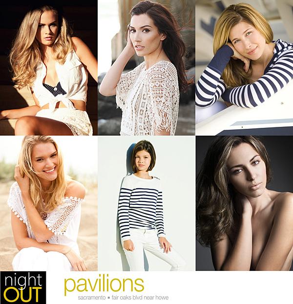 Pavilions Night Out - Cast Images